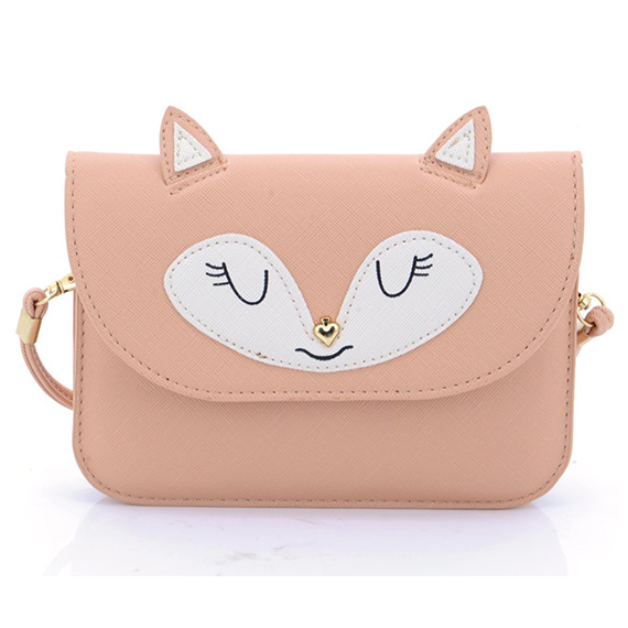 change purse customized multipurpose cute fox wallet pouch Effect picture