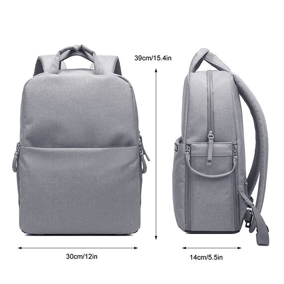 laptop bag waterproof multifunction travel Camera Backpack bag Effect picture