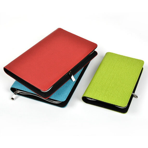 Folder Organizer Documents Holder with Calculator Professional Portfolio