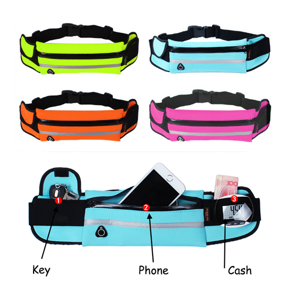 Waist Bag gym sports bag bike bag Travel Running Waist Pack Fanny Pack