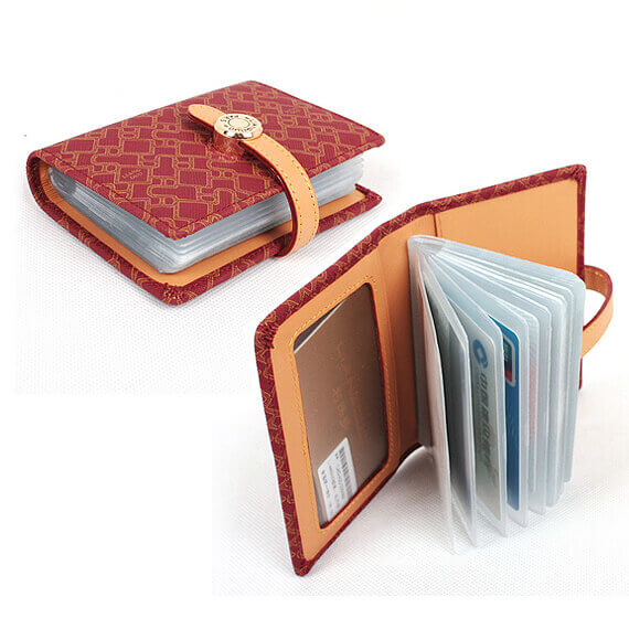 card holder PU leather credit card holder business card holder