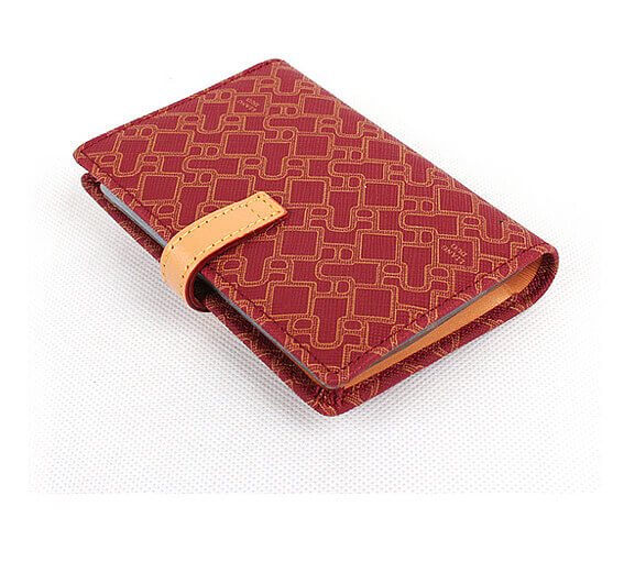 card holder PU leather credit card holder business card holder Effect picture