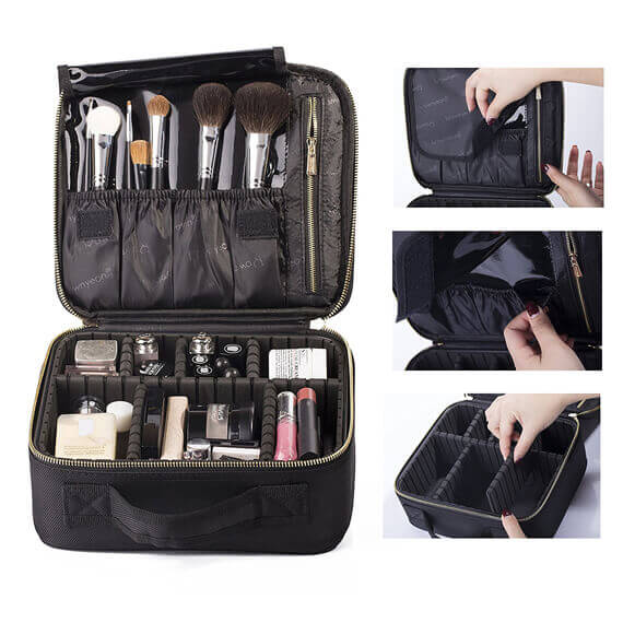 makeup case customized waterproof travel EVA cosmetic bag