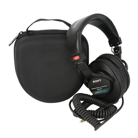 Headphone Case Professional Large Hard Case Storage Bag