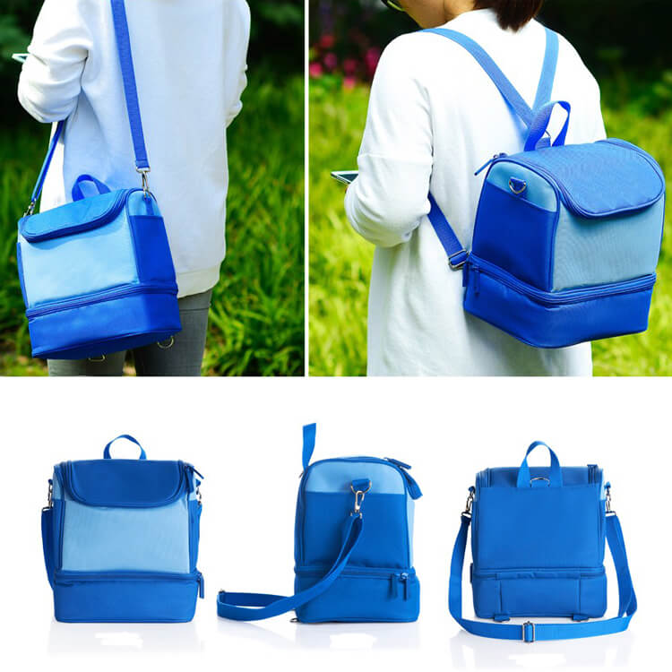 Cooler Bag Carrying Picnic Backpack Insulated Cooler Bag Effect picture