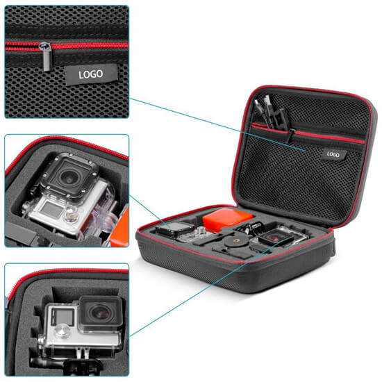 EVA Travel GoPro Camera Accessories Case details
