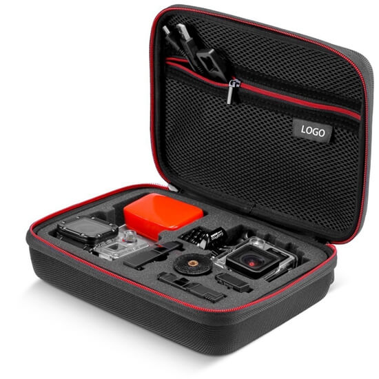 EVA Travel GoPro Camera Accessories Case open