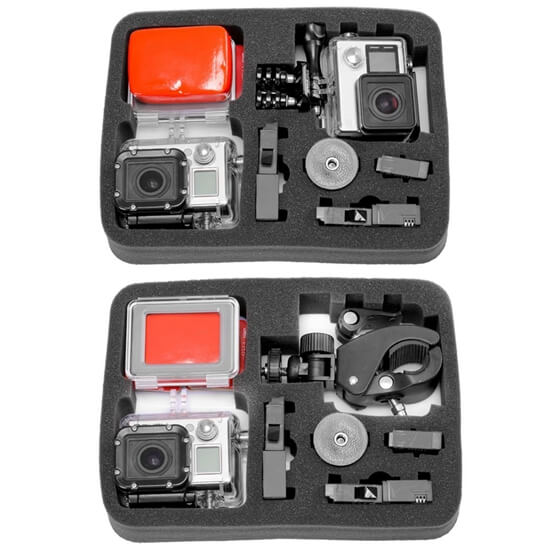 EVA Travel GoPro Camera Accessories Case tray