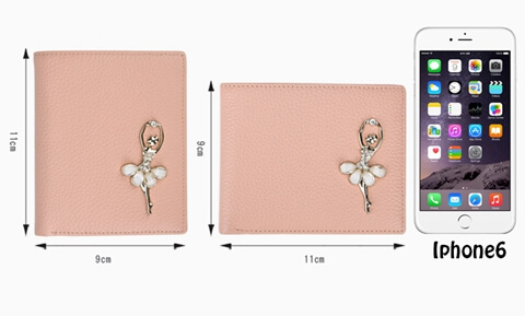 Smart Minimalist Lady Slim Wallet size