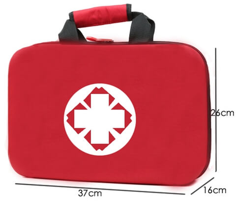 Travel Hard Case Cover First Aid Kit Bag size