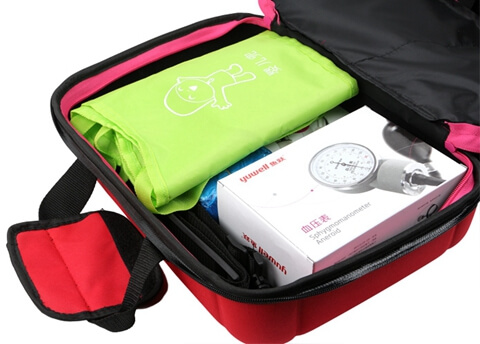 Travel Hard Case Cover First Aid Kit Bag bottom