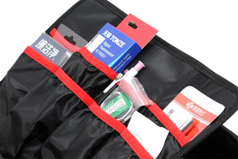 Travel Hard Case Cover First Aid Kit Bag top side
