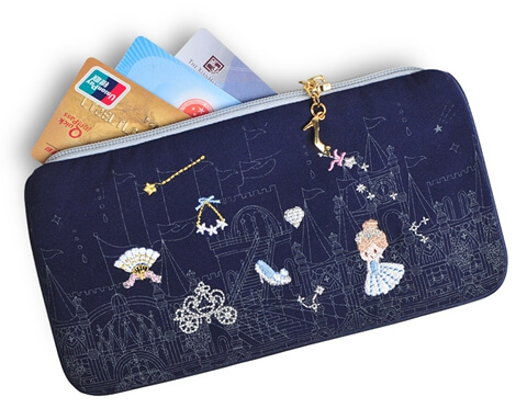 Portable Embroidery Storage Wholesale Canvas Cosmetic Bag wallet