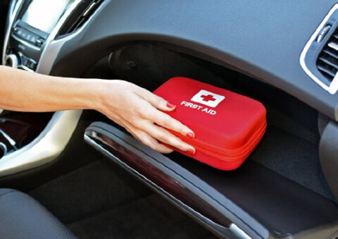 Customized EVA Carrying First Aid Storage Bag car