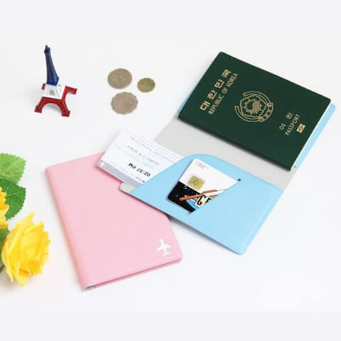 Personalized Leather Cover Passport Holder big