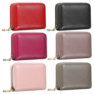Leather Wallet ID Credit Card Holder color