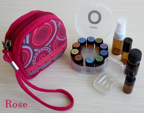 Carrying Essential Oil Bag For Young Living And doTERRA red