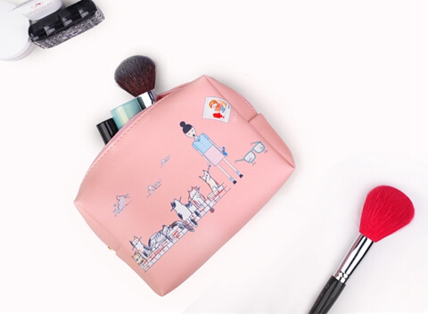 Wholesale Carry Travel Cosmetic Make Up Bag Pouch big capacity