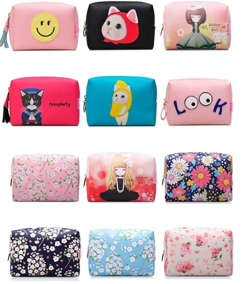 Wholesale Carry Travel Cosmetic Make Up Bag Pouch more option