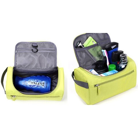 2 ways waterproof large capacity handle organizer toiletry bag