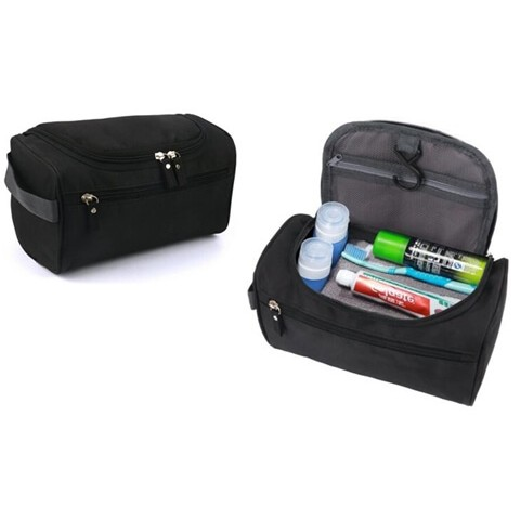 customcanvas men hanging travel toiletry bag