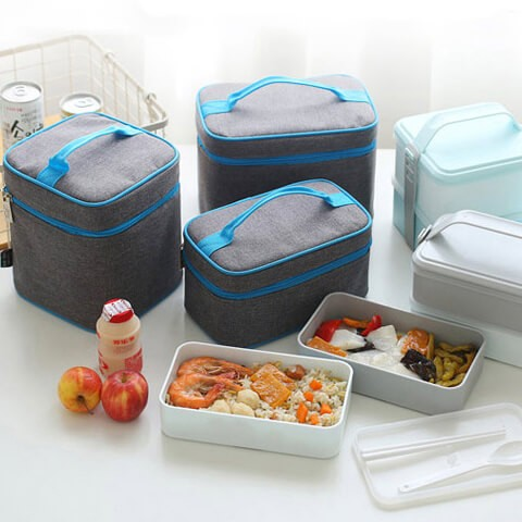 Dual Compartment Lunch Kit