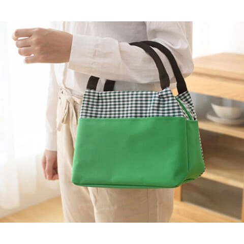 Insulated Cooler Lunch Bag green