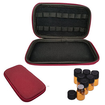 Hard Shell Carry Bottle Essential Oil Case