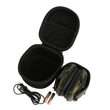 Folding Earmuff Earphone Storage EVA Earphone Case