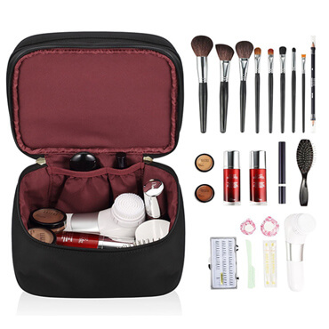 Soft Large Brush Cosmetic Custom Makeup Bag