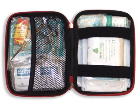 Customized EVA Carrying First Aid Storage Bag Effect picture