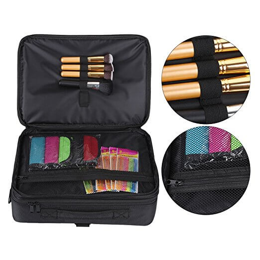 Large Space Handle Shoulder Makeup Brush Bag Effect picture
