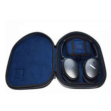 storage in Black carrying hard EVA case custom headphone case