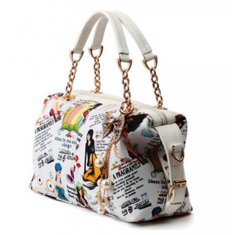 Womens Pu Leather Boutique Tote Bags Effect picture